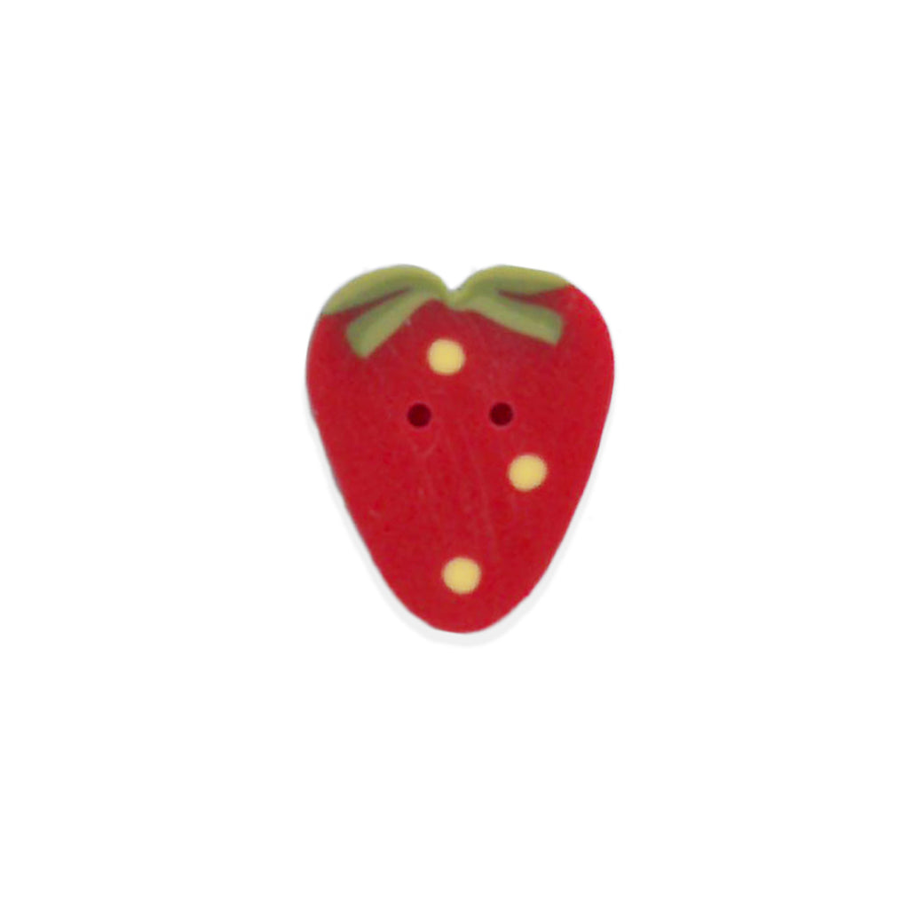 small juicy strawberry