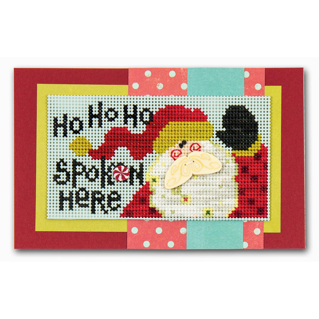 Spoken Here Cross Stitch Chart