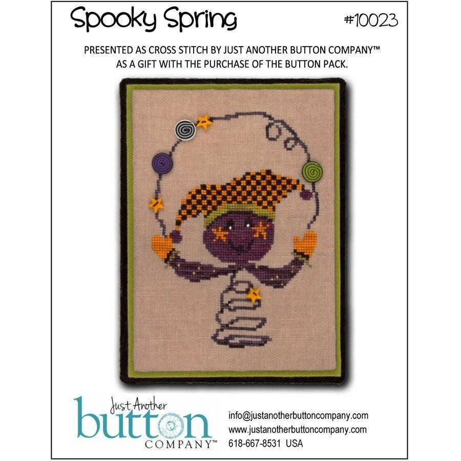 JABC - Cross Stitch Patterns - Spooky Spring (includes free chart)