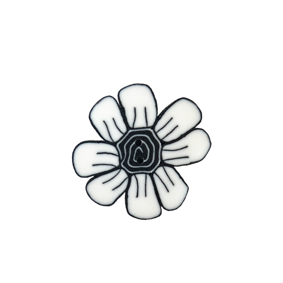 small black & white daisy