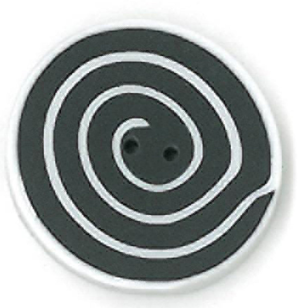 medium swirl - black & white