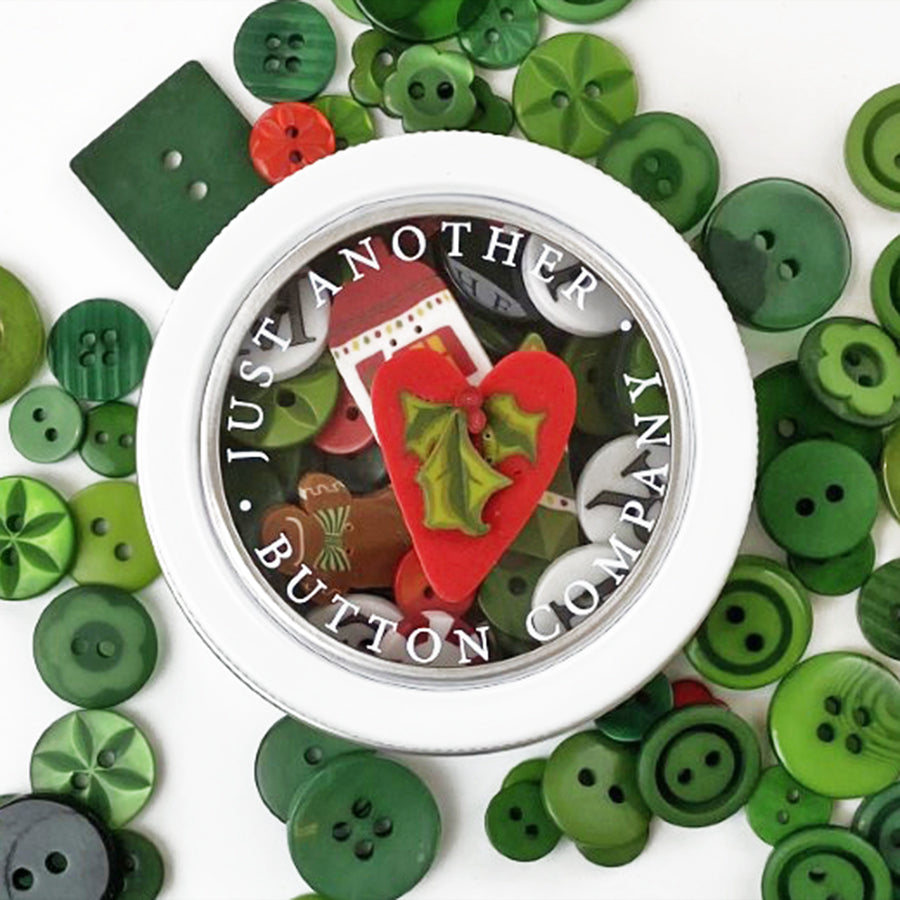 Join Button Lover's Club:  Take Heart Tin + Sprinkler (Wait List)