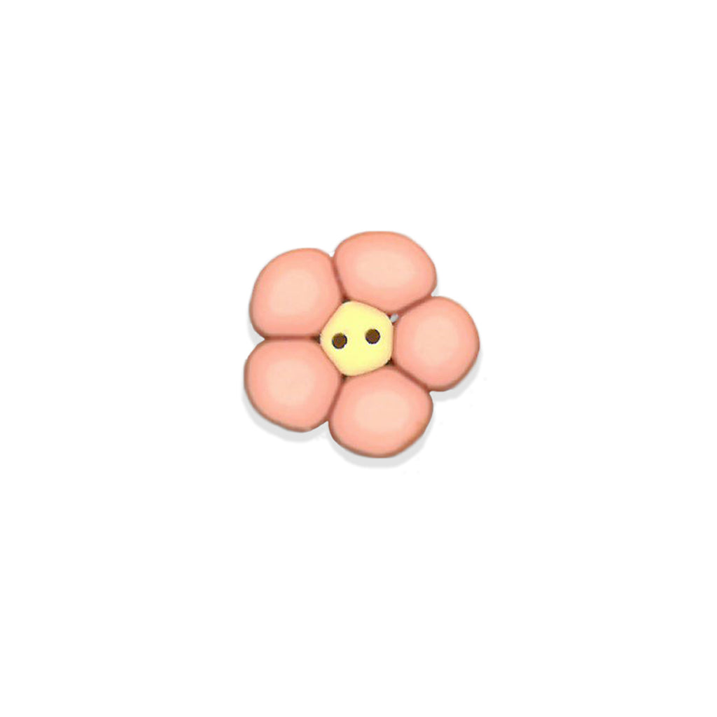 tiny peach flower