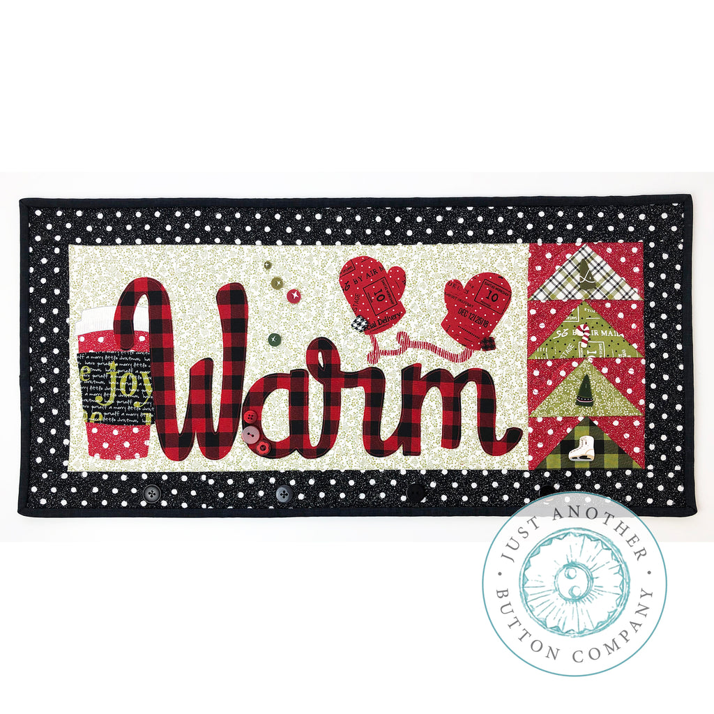 JABC - Applique Pattern - Warm Table Runner