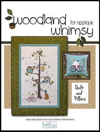 JABC - Applique Pattern - Woodland Whimsy