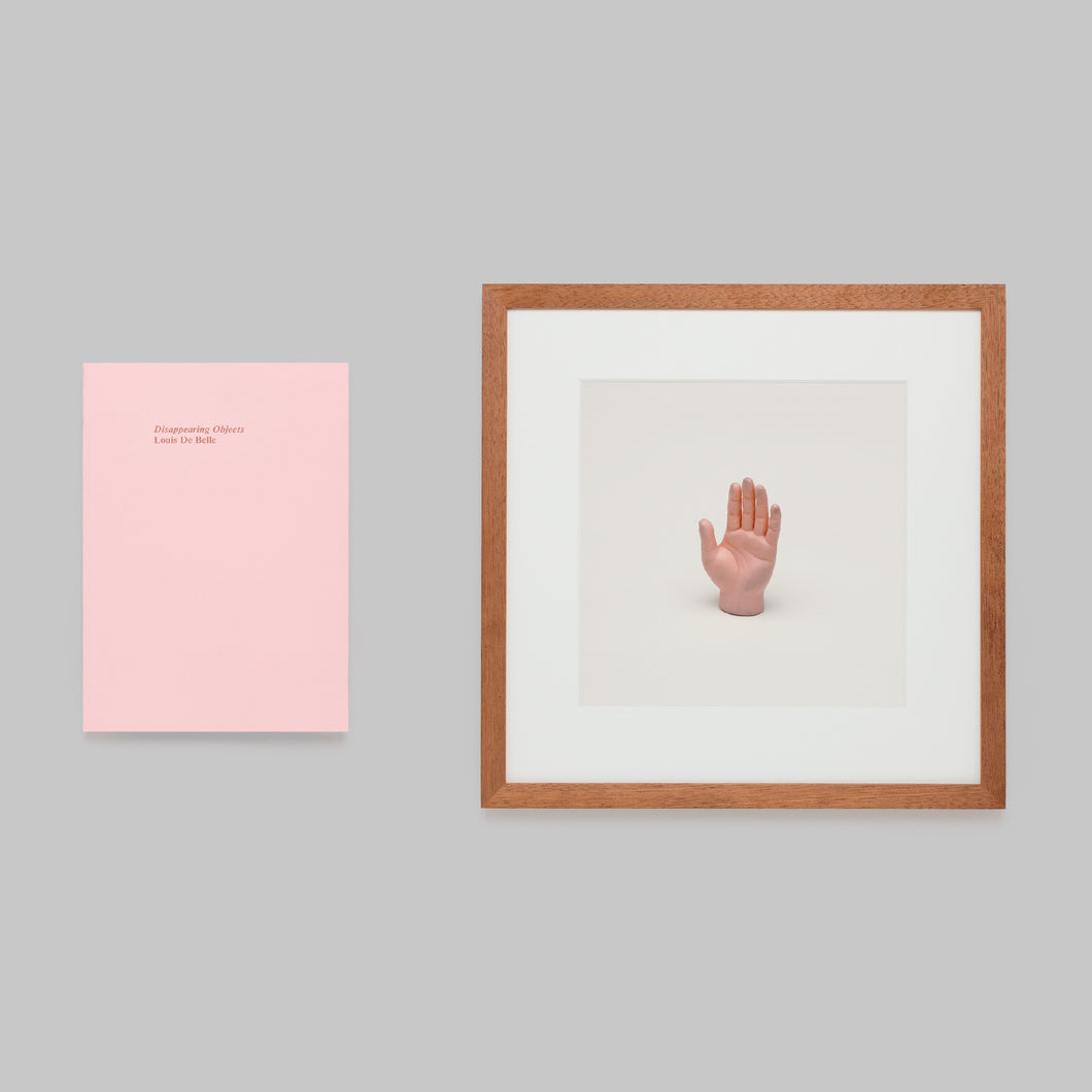 Disappearing Objects — Louis De Belle (Little Hand Framed Edition)