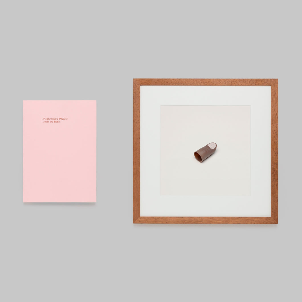 Disappearing Objects — Louis De Belle (Thumb Tip (black) Framed Edition)