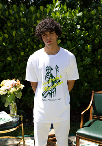 Caddy Tee - White