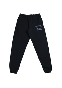 Cover Page Sweatpant - Black