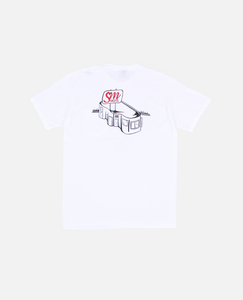 MOTEL S.M. POCKET TEE (WHITE)
