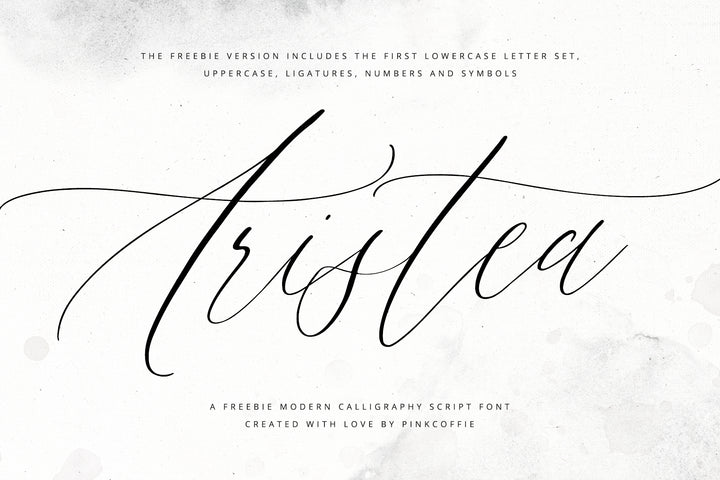 Aristea Free Font - Lite version