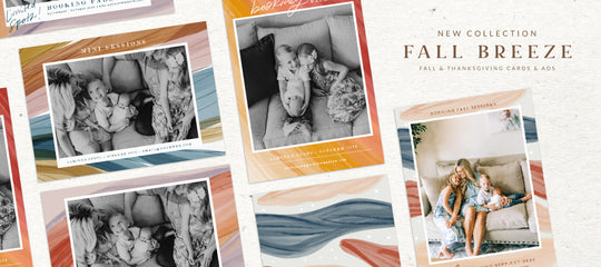 Fall Breeze: Fall Collection 2019  | Card Templates
