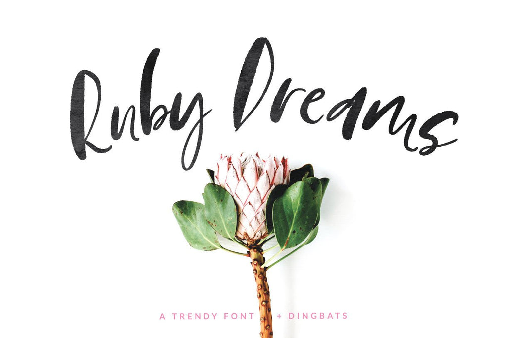 New font! Introducing Ruby Dreams