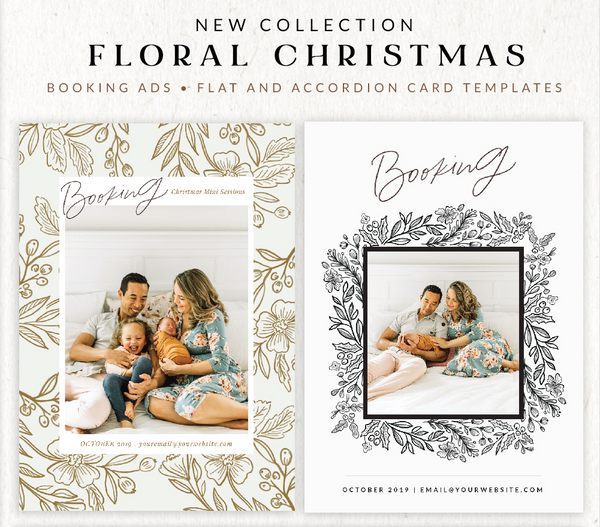 Floral Elegance Christmas Collection