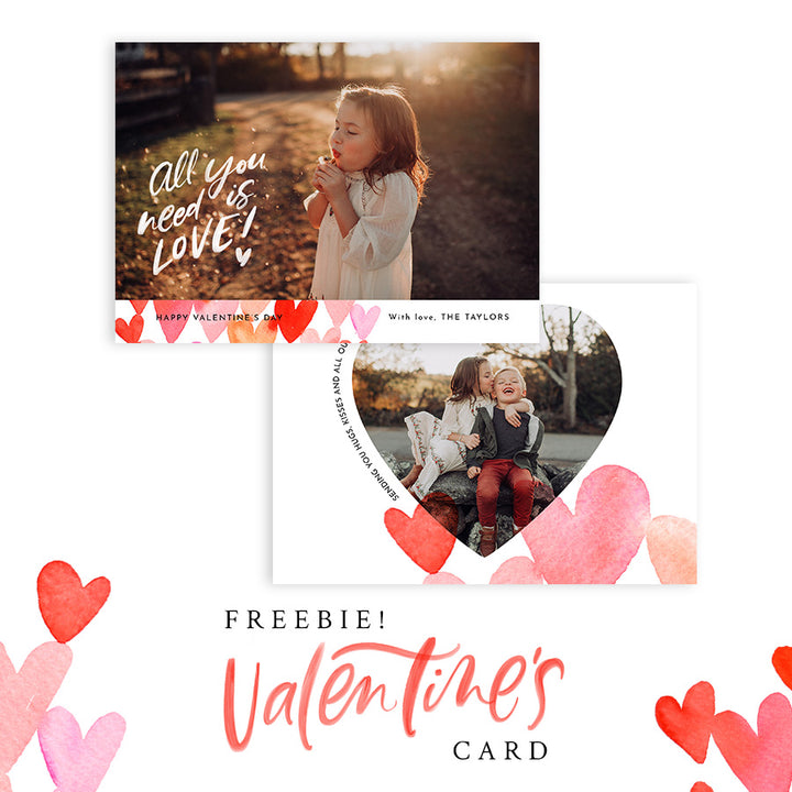 New FREEBIE - Free Valentine's Card