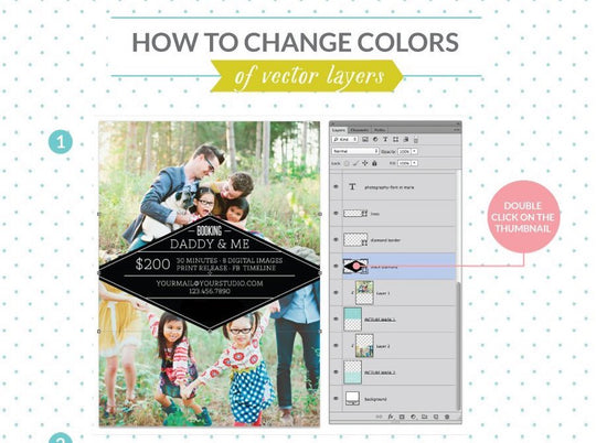 How to change colors of vector layers