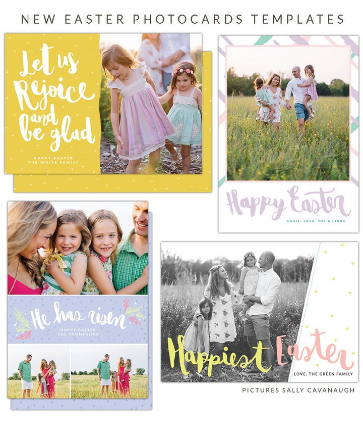 New Easter collection - Photo cards & Marketing boards for your Studio