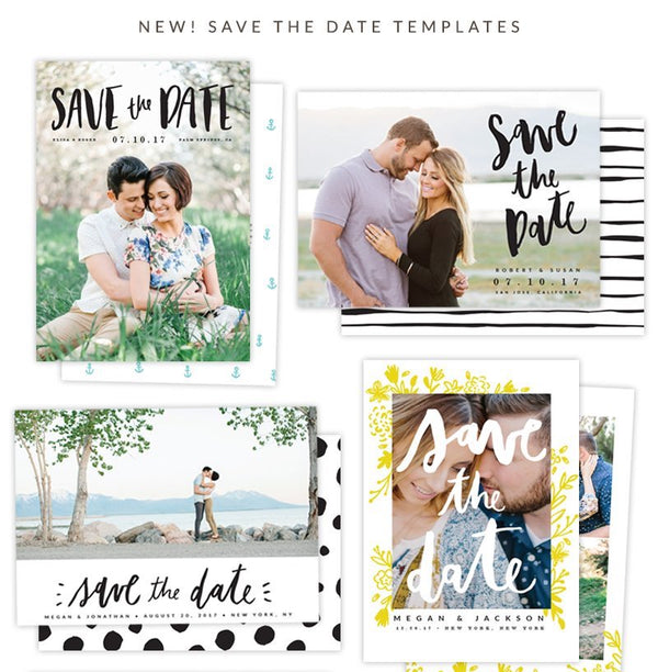 NEW! Save the Date Photocards