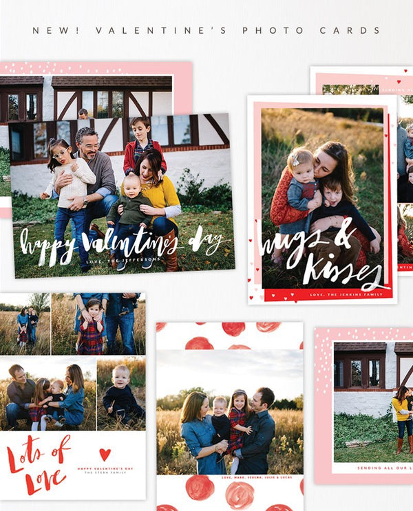 NEW! Valentine's Day Photo cards