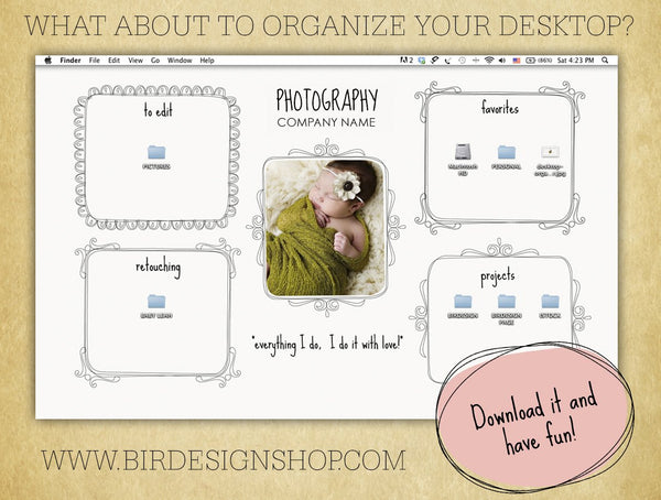 Organizing your desktop for 2013