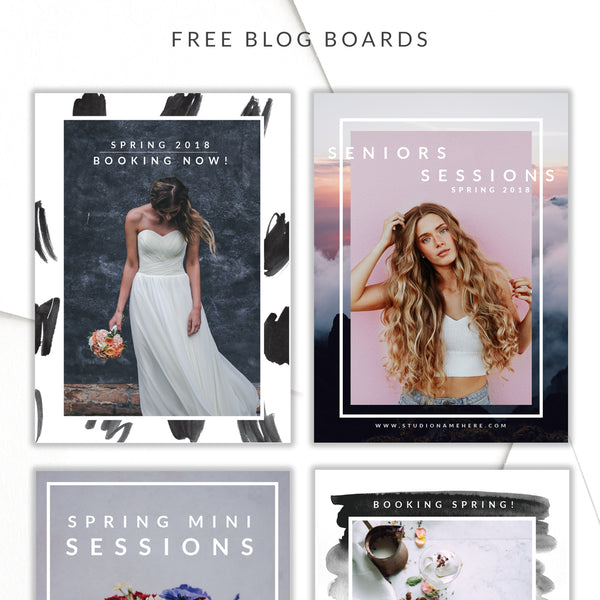 March Freebie! Multipurpose Photo Layouts.