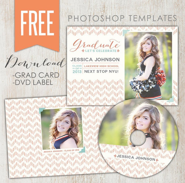 August FREE Photoshop template!