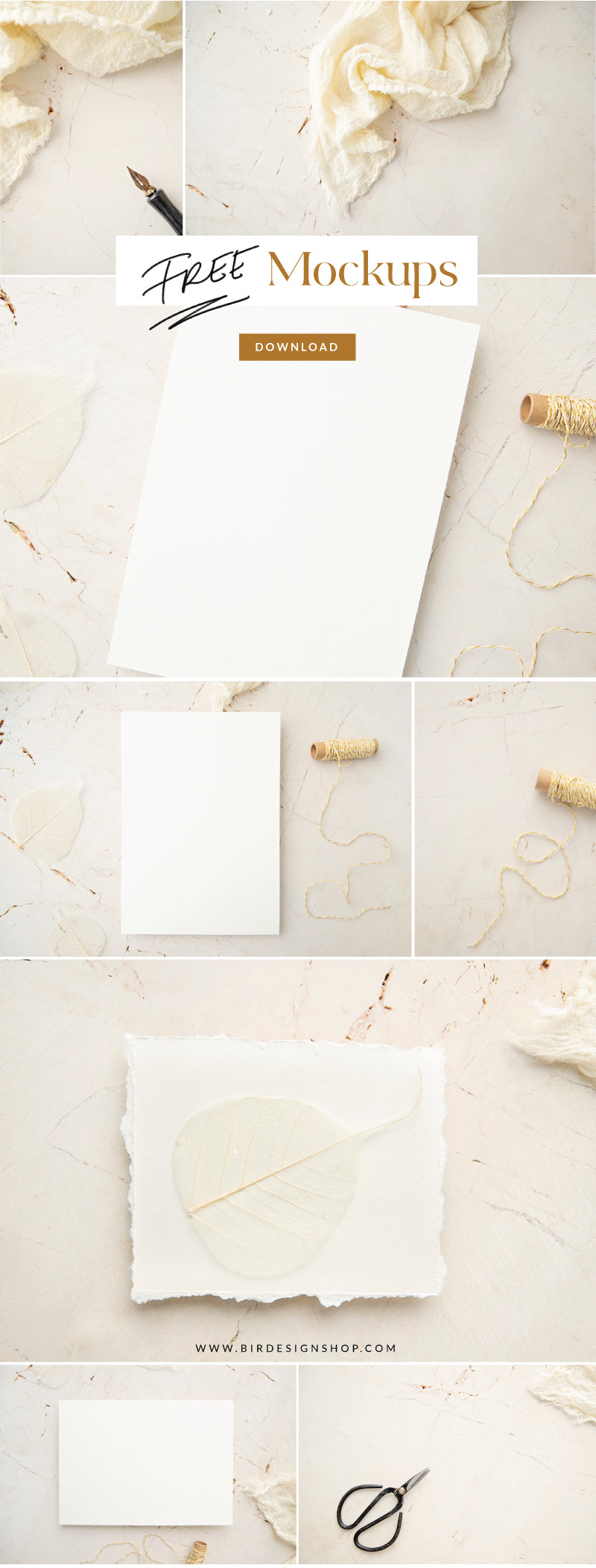 Free Stock Images - Stationery Mockups