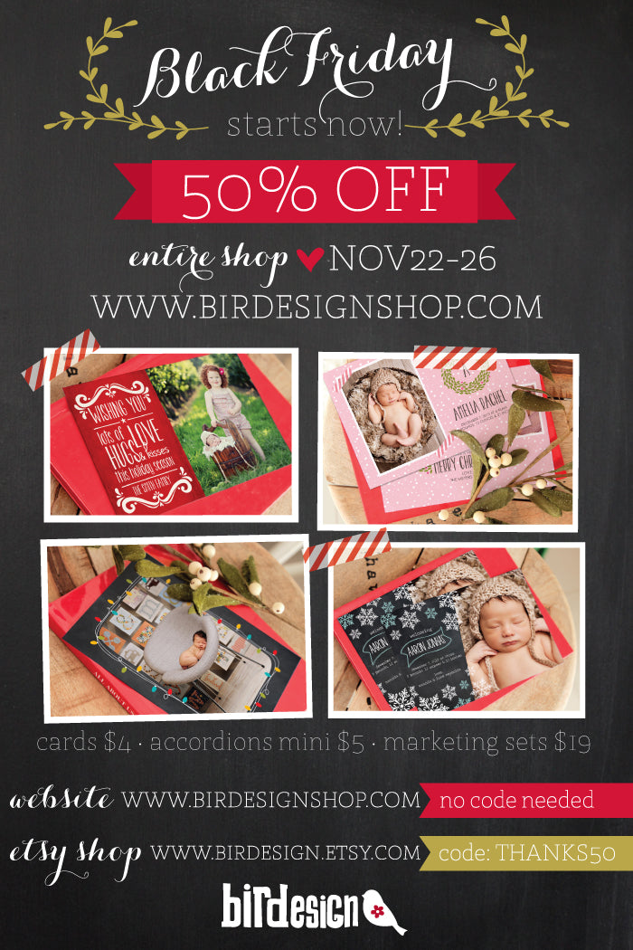 Black Friday Sale Birdesign Photoshop templates