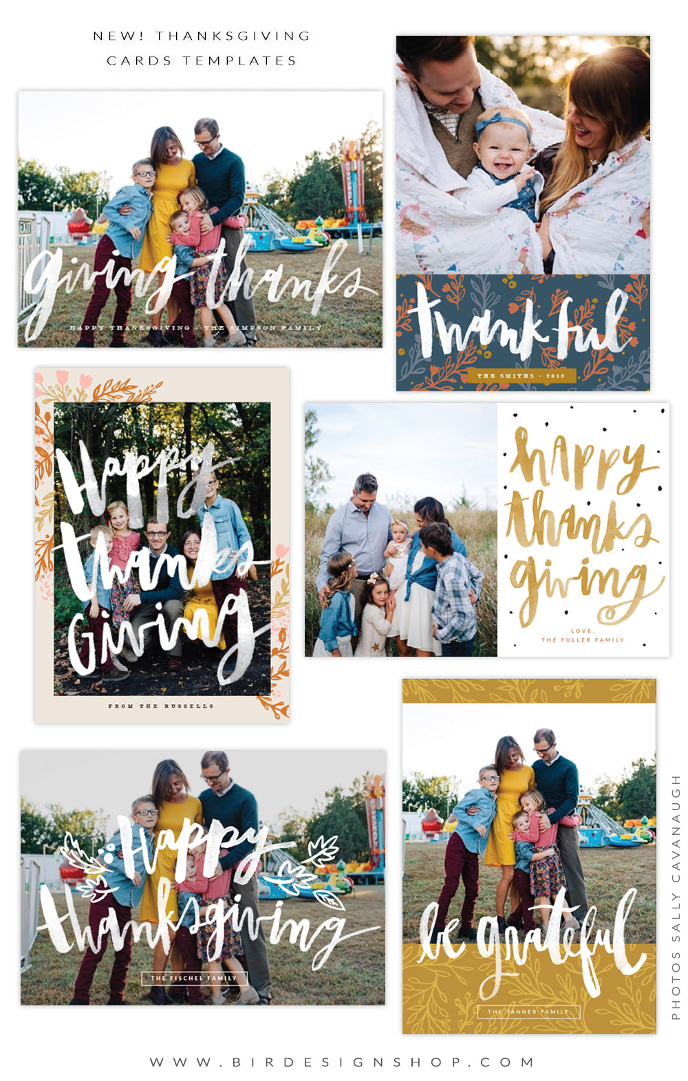 thanksgiving cards photoshop templates