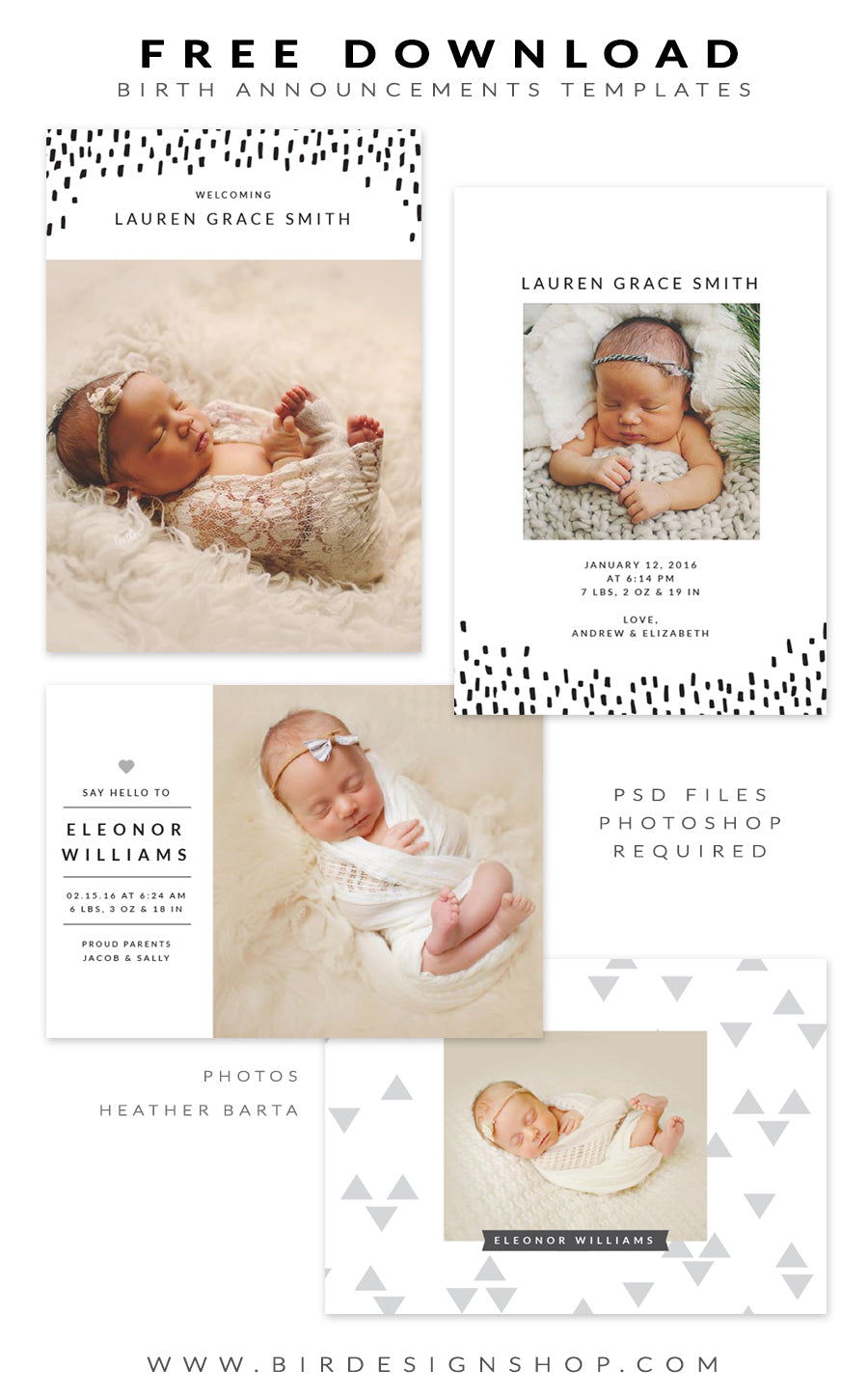 free online birth announcements templates - free birth announcements templates january freebie