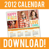 free calendar template for photographers