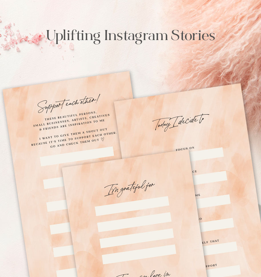 Free Uplifiting Instagram Stories