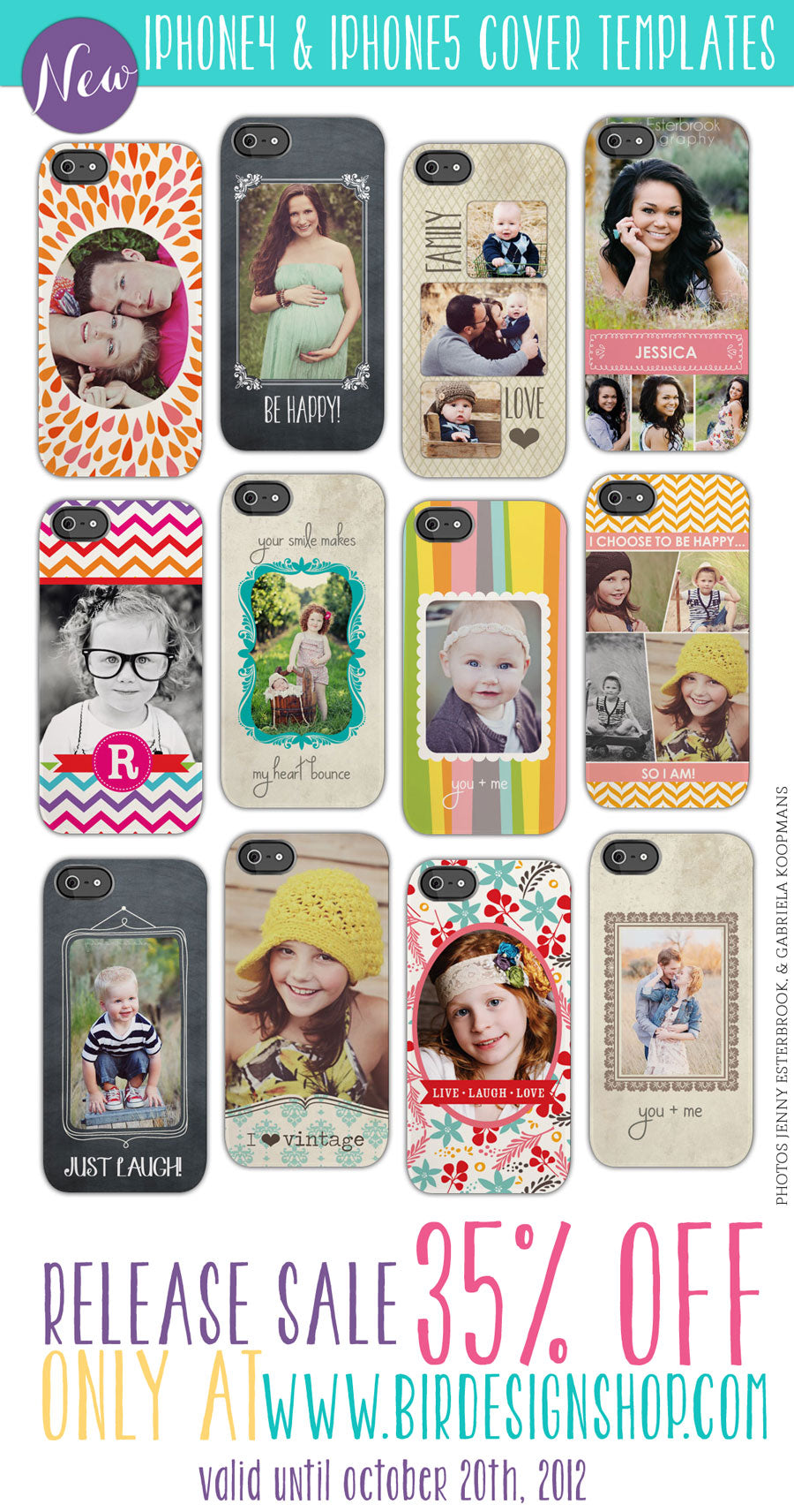 iphone 4 and iphon 5 covers templates photoshop templates for photographers