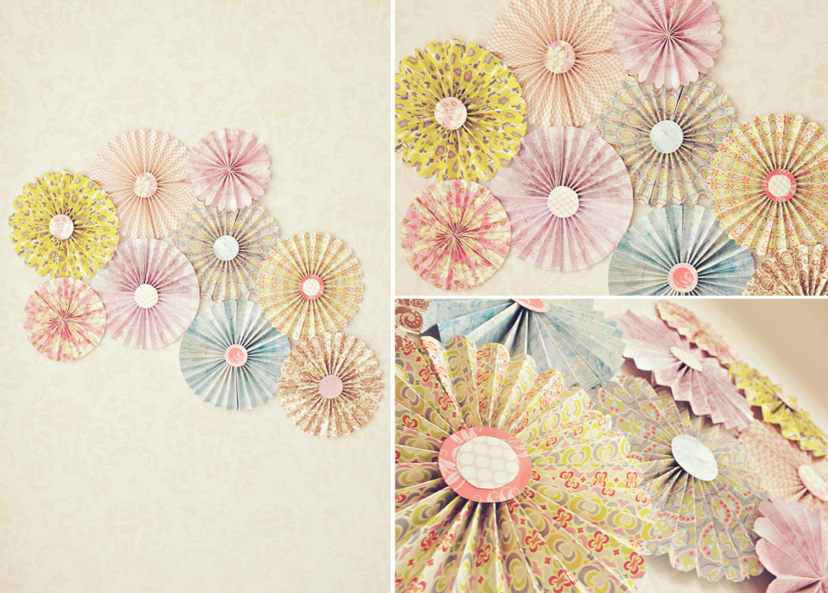 paper pinwheels background for photographers DIY project
