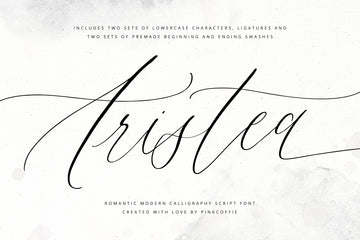 Aristea Full version | Romantic Serif Font