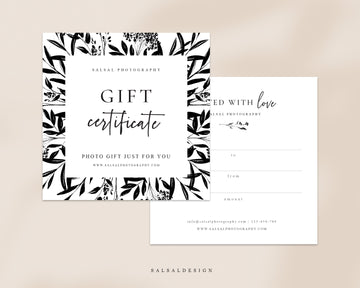 Photography Gift Certificate - Gardens