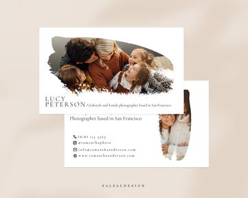 Photography Business Card Template - Lucy