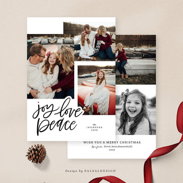 Christmas 5x7 Photo Card | Whimsy Love