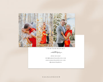 Photography Business Card Template - Samantha