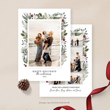 Christmas 5x7 Photo Card | Williams