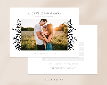 Photography Gift Certificate - Floral memories