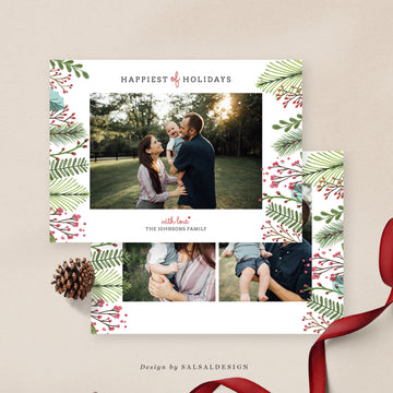 Christmas 5x7 Photo Card | Xmas Family