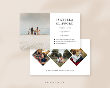 Photography Business Card Template - Isabella