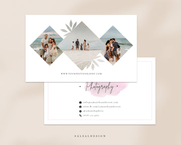 Photography Business Card Template - Savannah