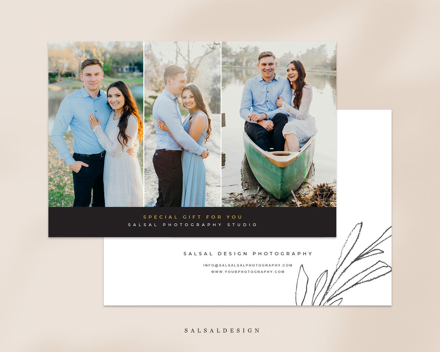 Photography Gift Certificate - Greens