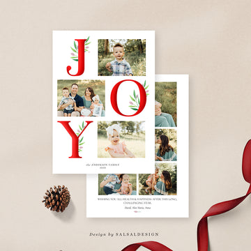 Christmas 5x7 Photo Card | Modern Joy