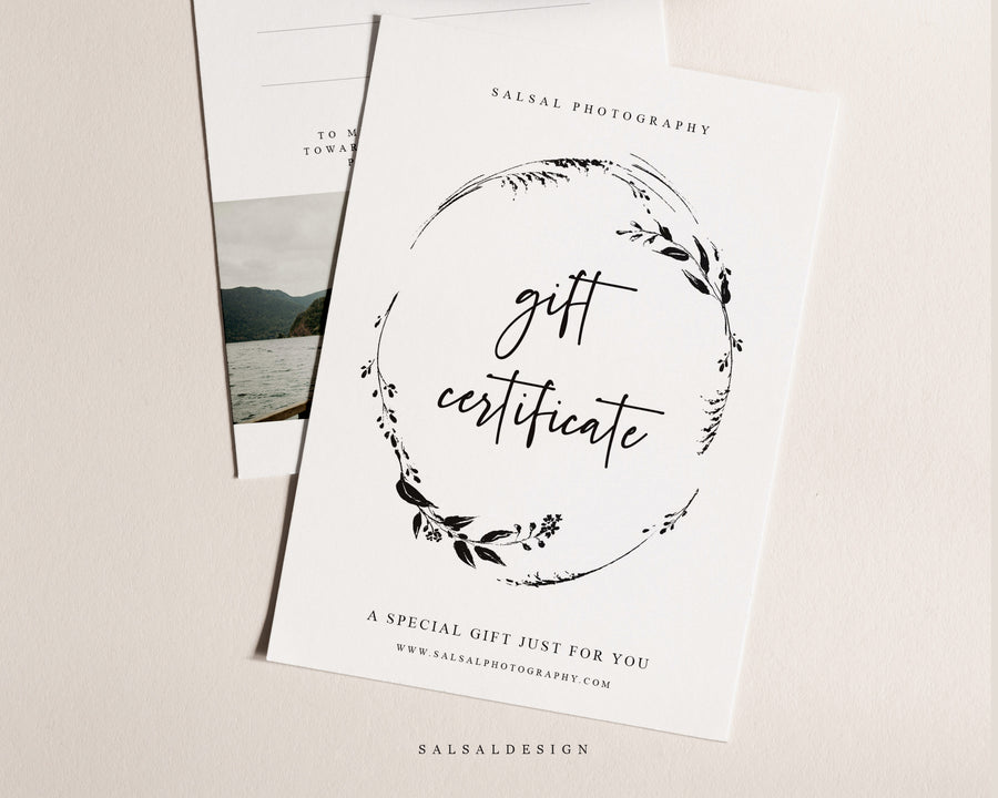 Photography Gift Certificate - Crowns