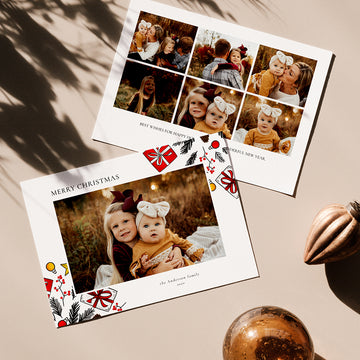 Christmas 5x7 Photo Card | Andersons