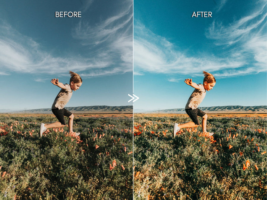 Bright VIVID COLORS Outdoor Lifestyle Lightroom Presets Pack for Desktop and Mobile