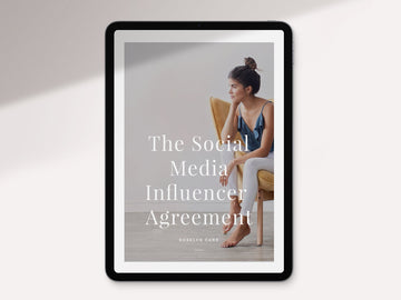 Social Media Influencer Agreement
